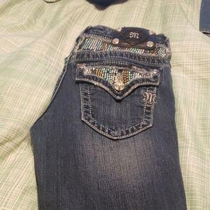 Embellished Miss Me jeans